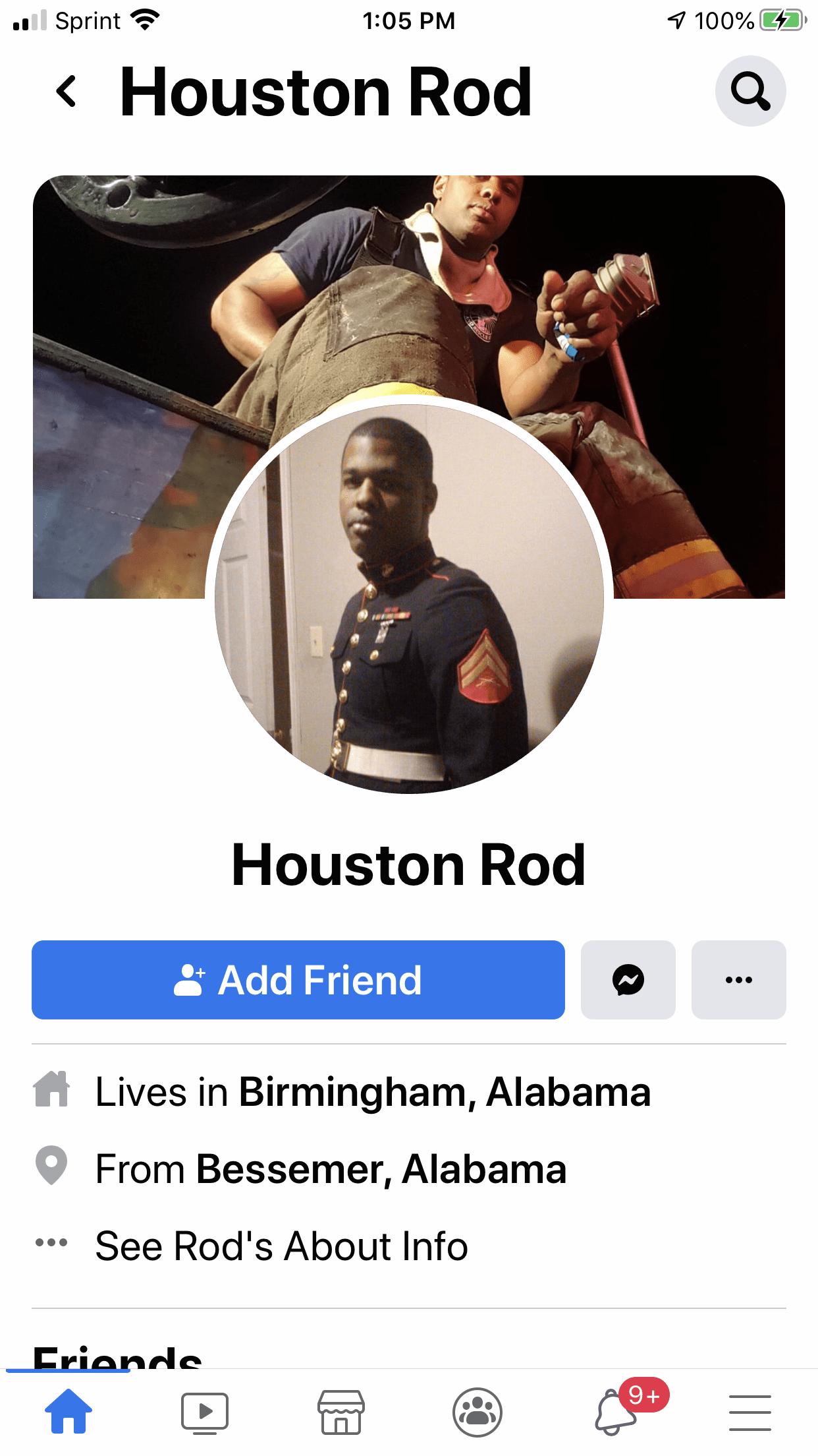Roderick  Houston