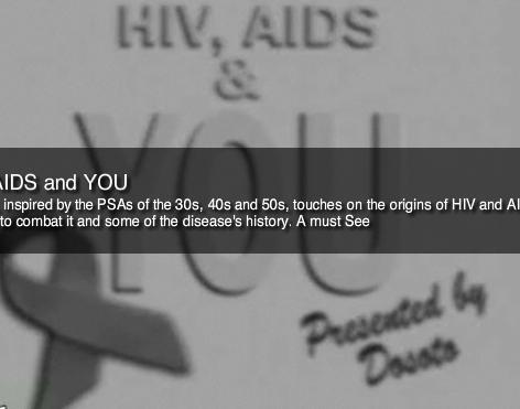 AIDS Public Service Announcement