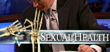 Colbert Report - Cheating Death - Sexual Health