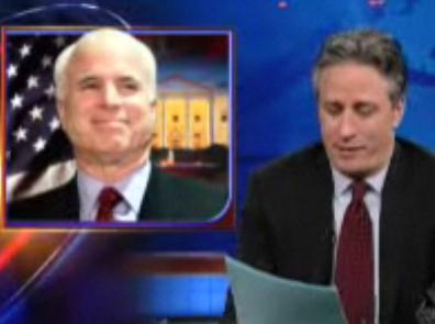 Daily Show - McCain Herpes?
