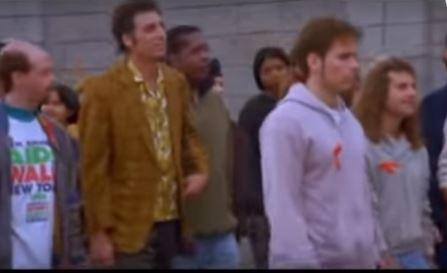 Seinfeld - AIDS Walk Video